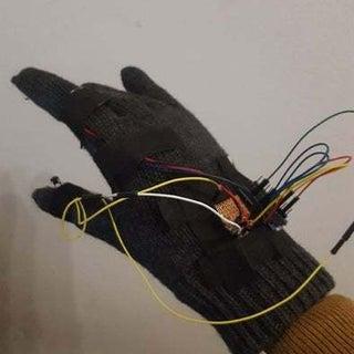 Arduino Mouse Control Glove