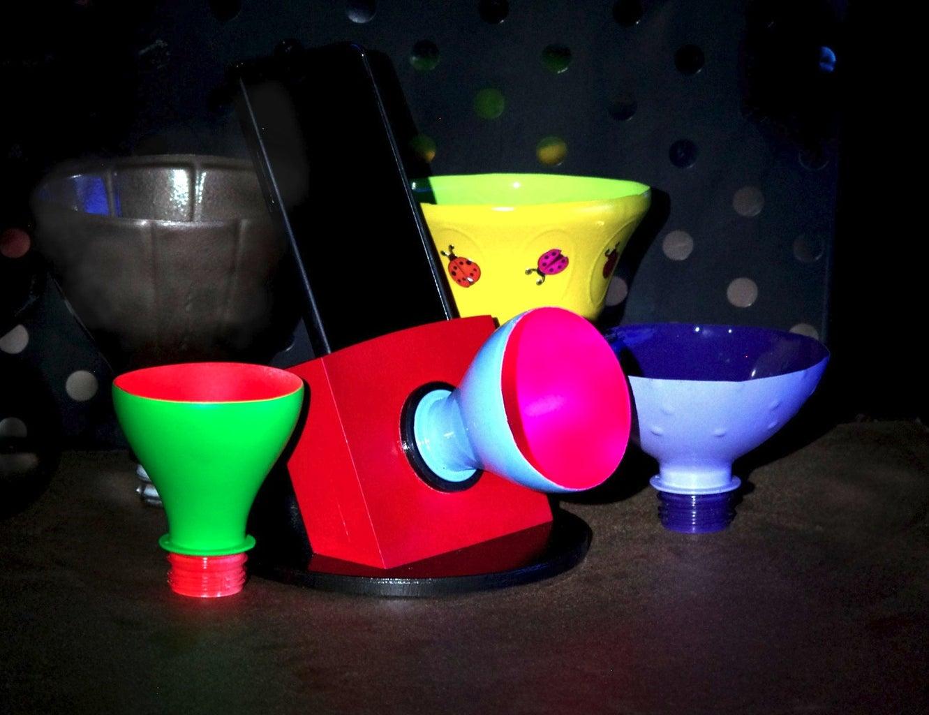 Interchangeable Horn Phone Speaker