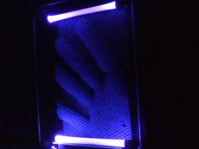 UV LED Pin Art Lamp