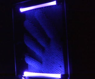 UV LED Pin Art Lamp