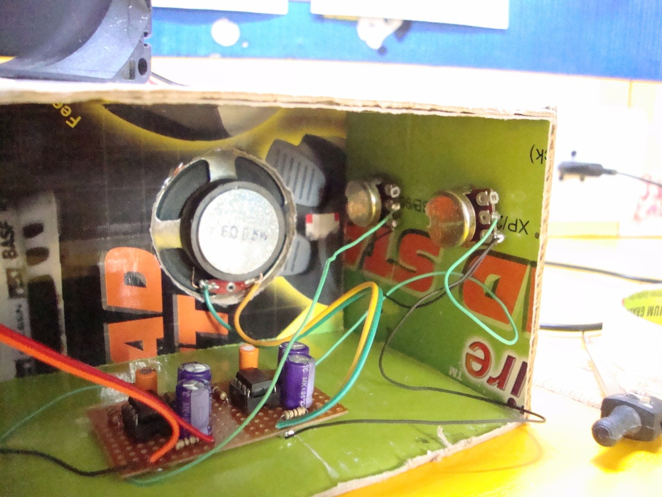 Install and Connect the Potentiometers