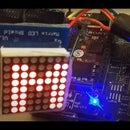 Programming an Arduino Using Another Arduino to Display a Scrolling Text Without a Library