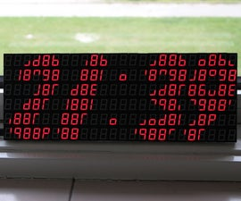 7 Segment Display Array