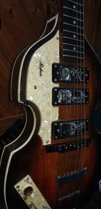 Handmade Paul McCartney Hofner Inspired Stratocaster Guitar From Scratch