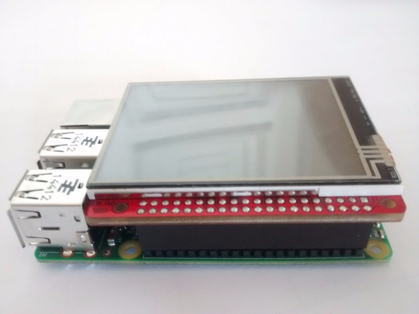 Connect the Touchscreen to the Raspberry Pi