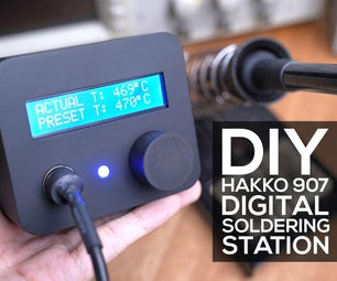 DIY Digital Soldering Station (Hakko 907)