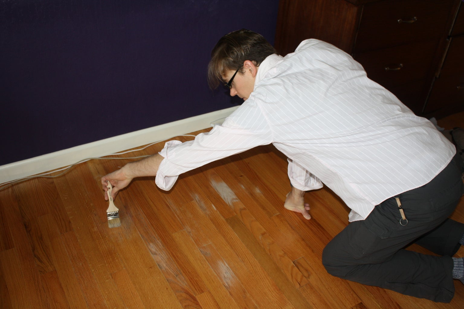 Refinish Hardwood Floor