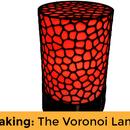 The Voronoi LED Desk Lamp