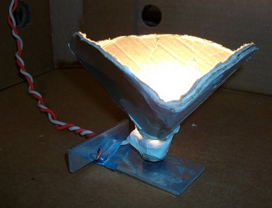 Recycled Desk Lamp