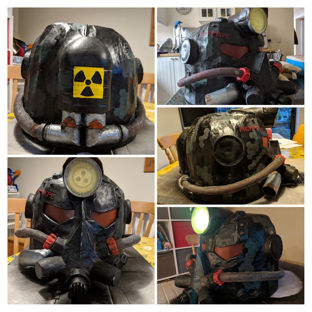 Recycled Power Armour Helmet
