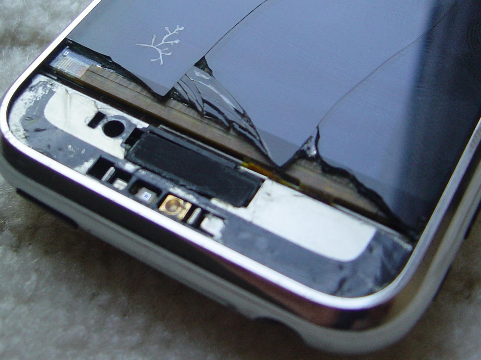iPhone 2G screen repair DIY