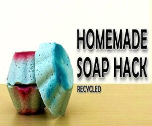 将肥皂放入新鲜的酒吧(视频)