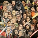The Ultimate Star Wars Drawing (that I Have Been Putting Off for 4 Years...)