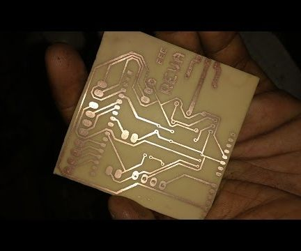 PCB ETCHING   TONER TRANSFER METHOD