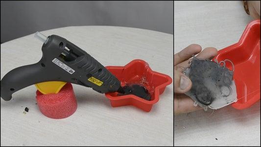 Melt Used Glue Back to a Hot Glue Stick