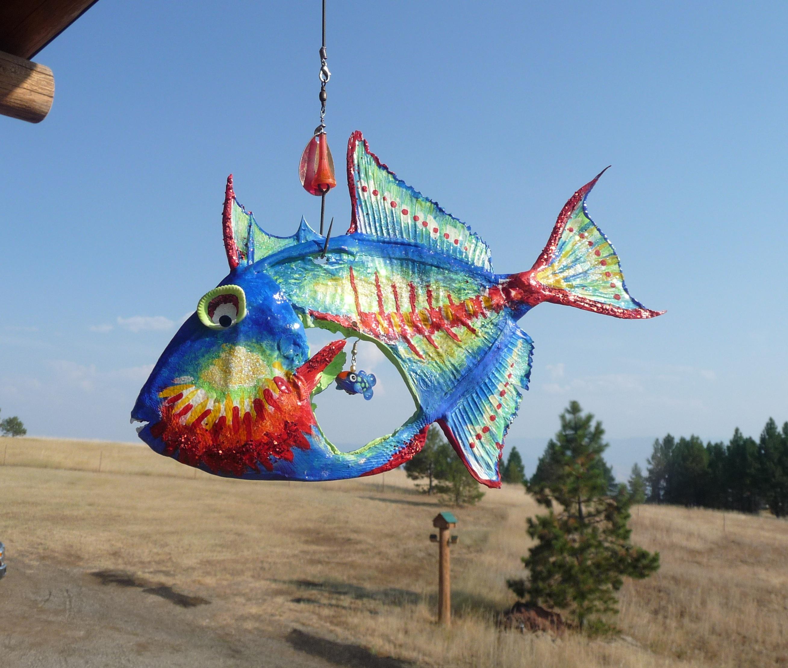 Trigger-Happy Fish Art