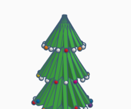 Designing a Christmas Tree With Tinkercad