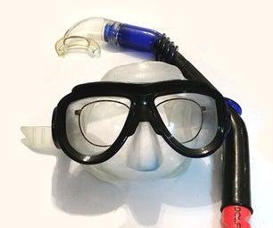 DIY处方呼吸管面具