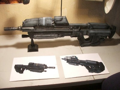 Building Prop Weapons From Junk