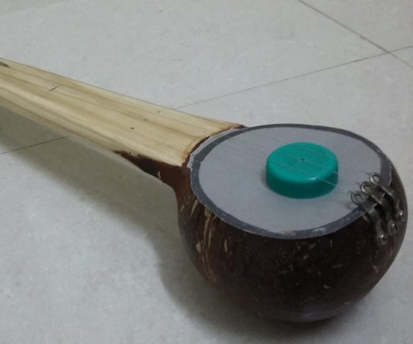 Coconut Shell Music Instrument