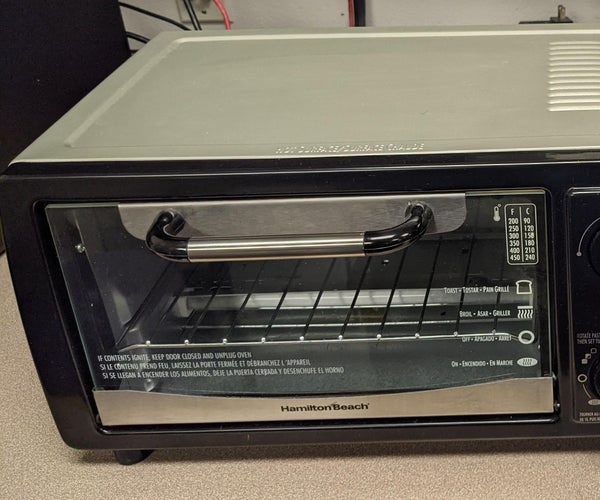 Toaster Oven to Reflow Oven