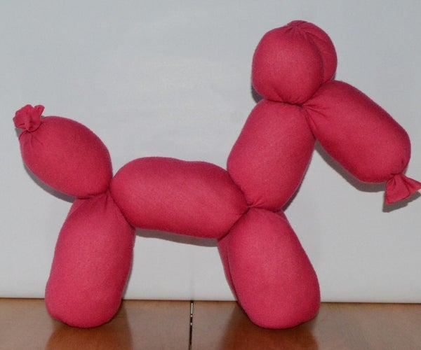 Stuffed Balloon Animal Toy