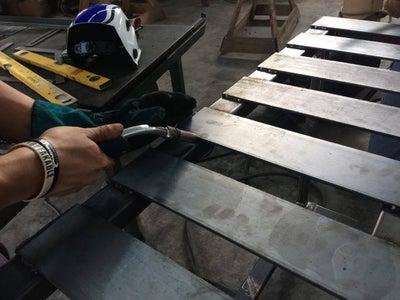 Welding the Flat Bars