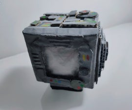 Space Box -A Box Which Lights Up When Events Happen in Space