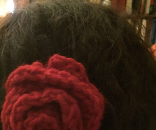 Crochet Rose Headband Tutorials