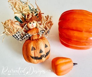 How to Create Unique Book Page Pumpkins