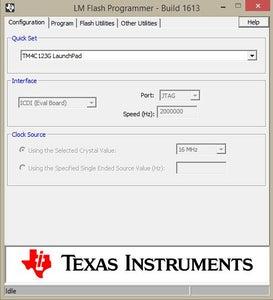 Downloading LM Flash Programmer