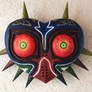 Wooden Majora's Mask