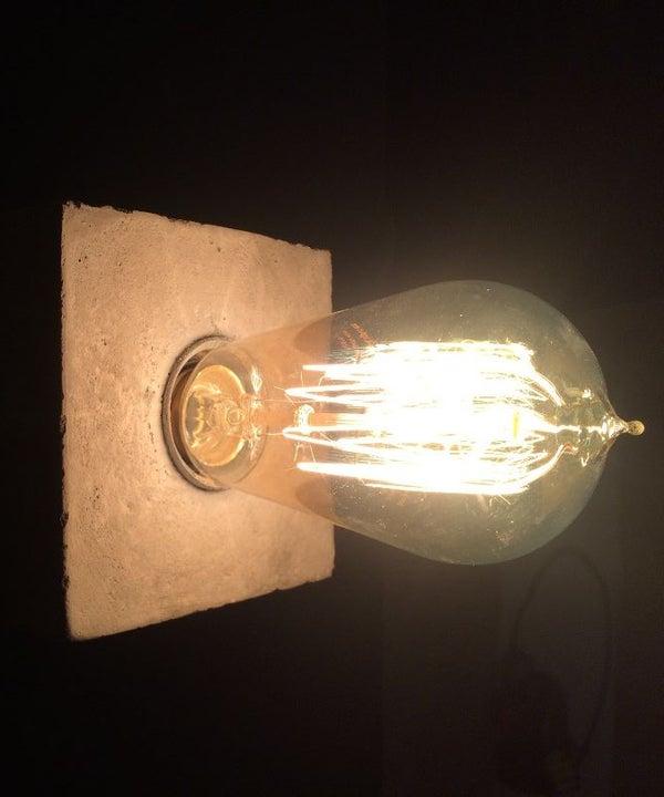 Concrete Lamp DIY