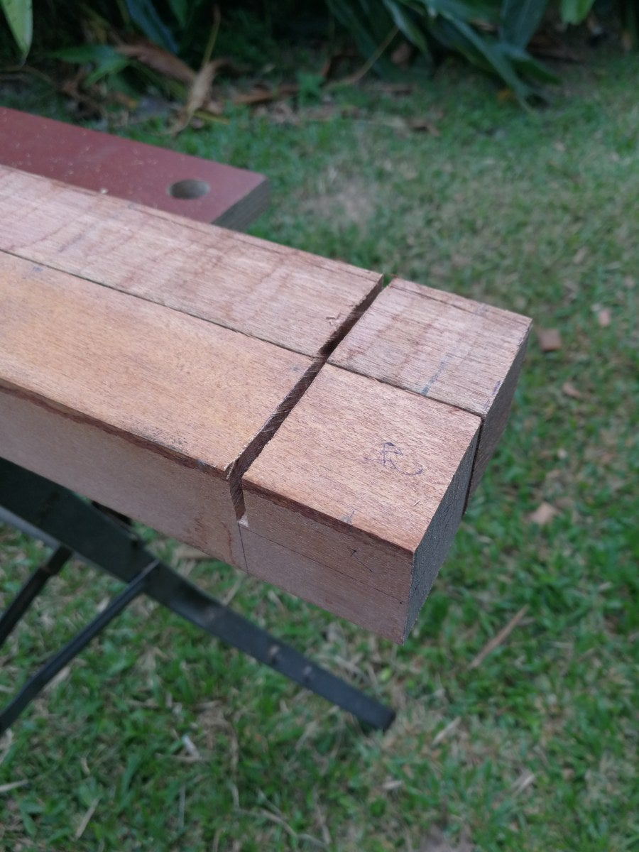 Cut the Lap Joints for Each Piece of the Table Frame