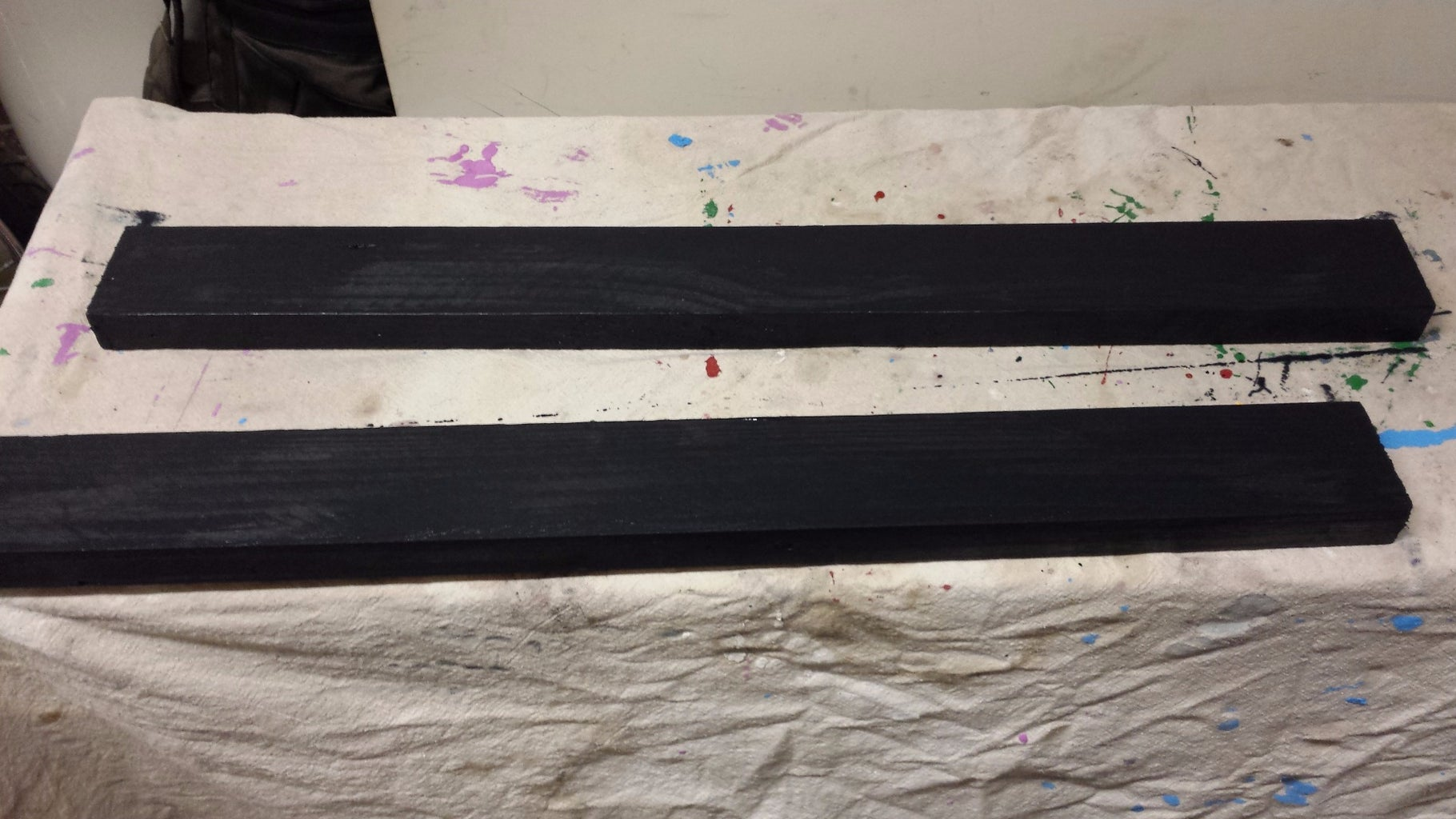 Paint, Stain and Mock Up