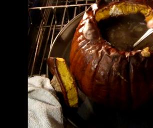 Inside Out Pumpkin Pie