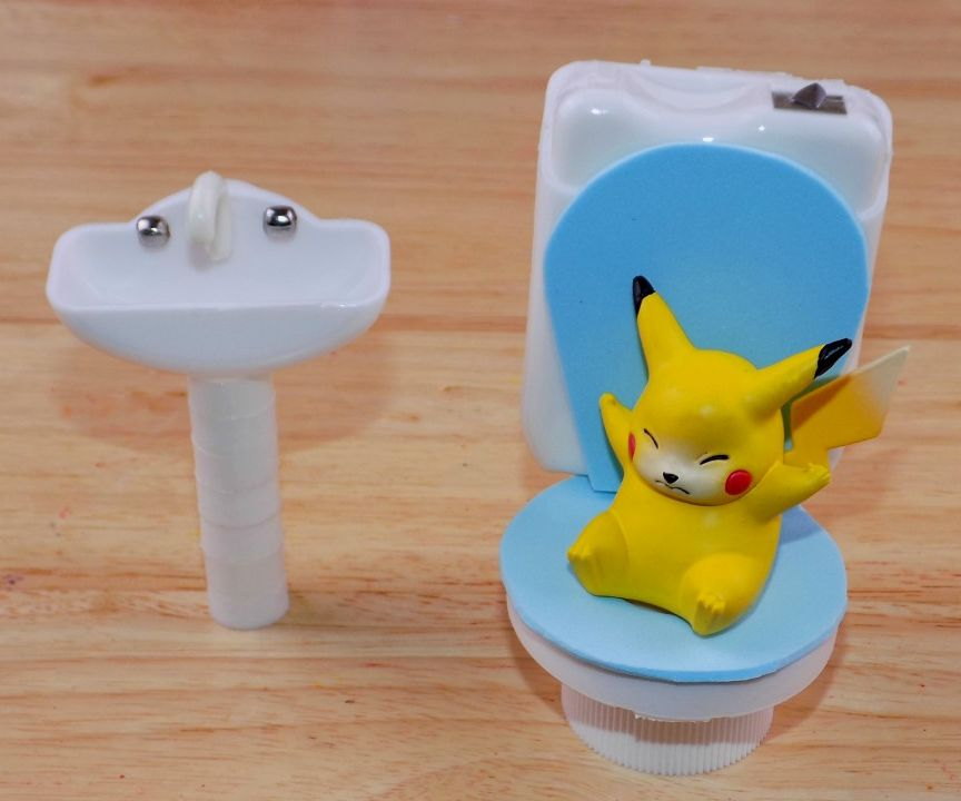 Diy Miniature Toilet and Sink