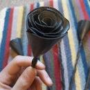 Recycled Innertube Roses