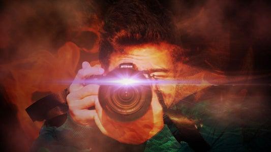 Step 10: Lens Flare & Vignette