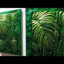 How to Make Jungle Embossed Painting / Metal Art