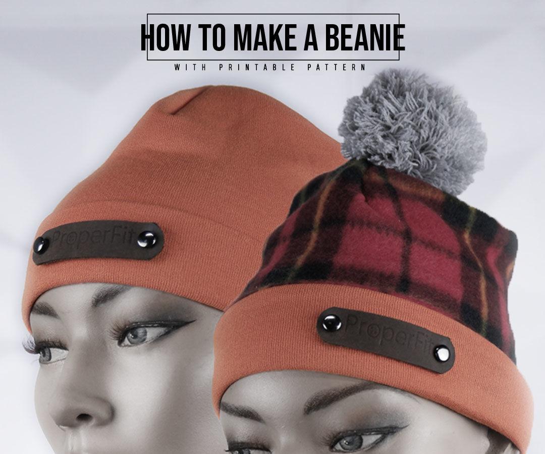 How to Make a Beanie