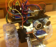 Arduino Robot Controlled by Android Phone App