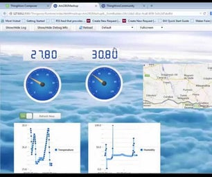 Weather Monitoring With IntelGalileo and Thingworx Cloudplatform