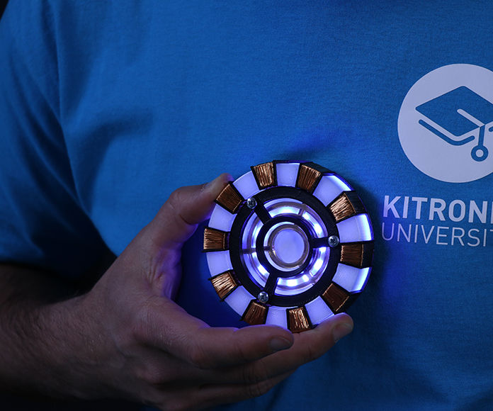 Micro:bit Powered Ironman Arc Reactor