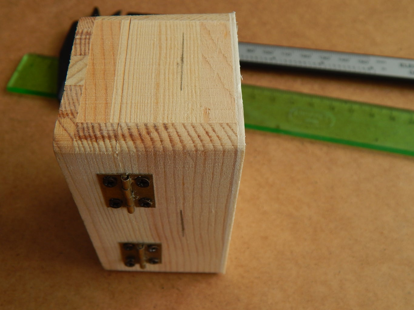 Measuring and Marking the Box