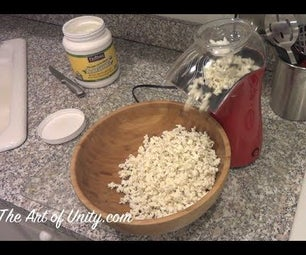 How to Make a Healthy Popcorn