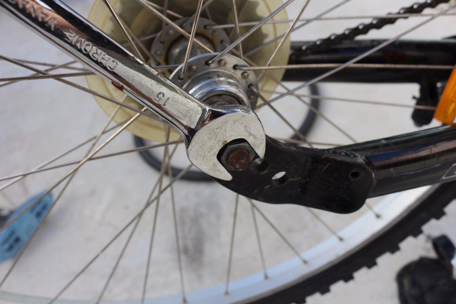 Reinstalling Wheel Onto Bike