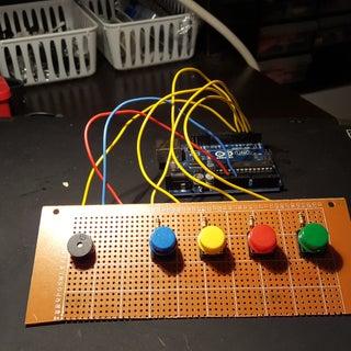 Mini Piano With Arduino 101