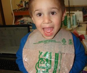 Recycled Plastic Bag Bib