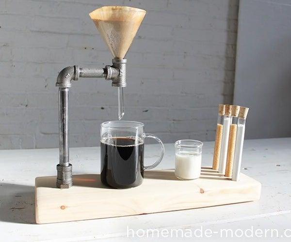 HomeMade Modern DIY Pipe Coffee Maker